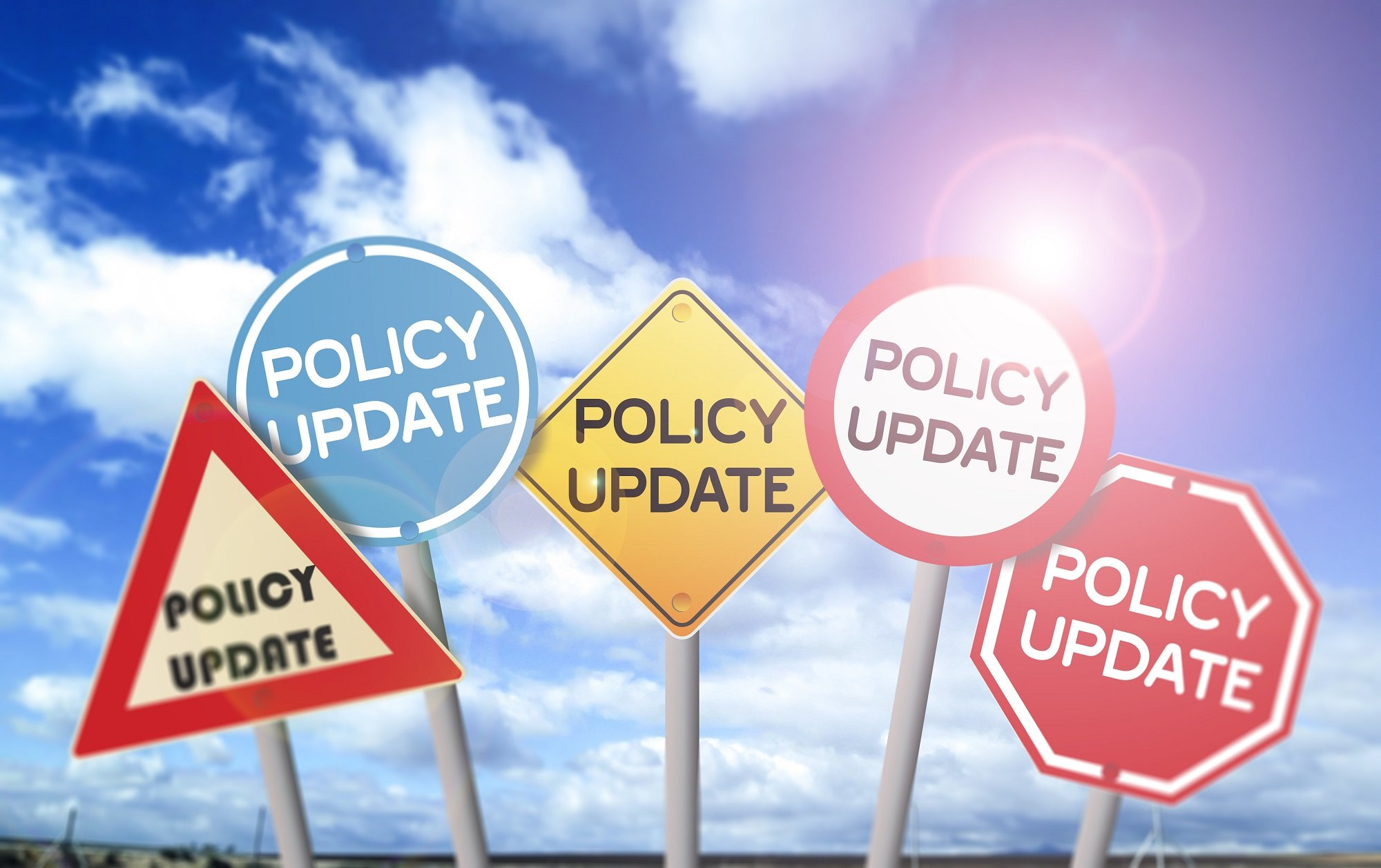ASIC Updates to their policies